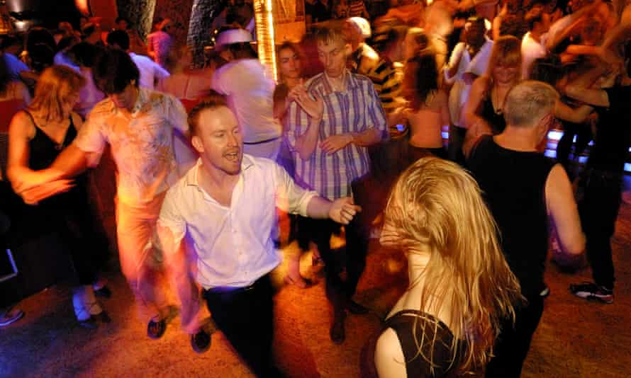 Salsa at the Havana club in Berlin's Schöneberg district. Such dancing is illegal this weekend in some parts of Germany. A Catholic spokesman in Stuttgart said: 'Good Friday is not open to debate.'