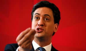 'Rarely have Miliband's policies come across so simply and clearly as a cohesive strategy towards building a stronger, more socialist country.' Photograph: Christopher Furlong/Getty Images