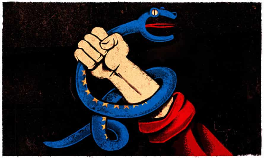 Ben Jennings illustration on Greece and Russia