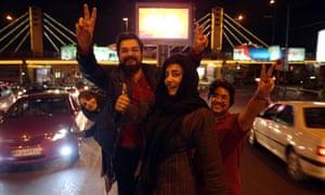 Tehran celebrates nuclear talks agreement