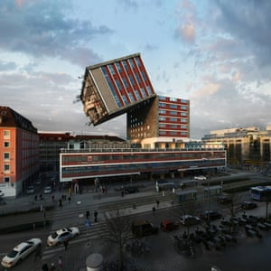 Images from the NHDK project (88 reconfigurations of the NH Deutscher Kaiser Hotel in Munich) by Víctor Enrich