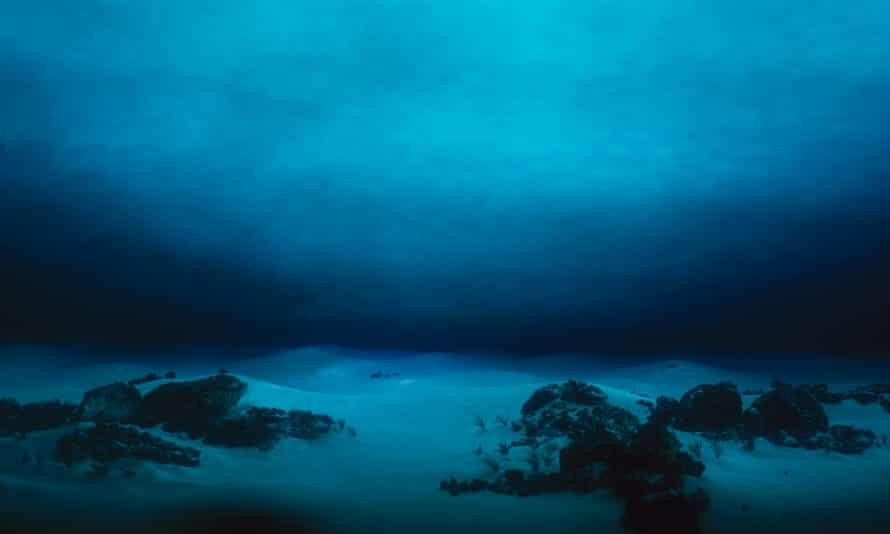 Deep terror ... underwater terrain.