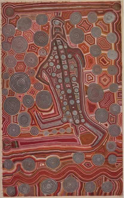 Yumari by Uta Uta Tjangala, 1981.