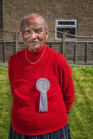 Clivia Philbin, a voting champion at a care home in Oxford, says: 'It's about giving people the choice if they still want to.'