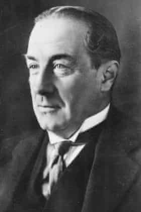 Stanley Baldwin, Prime minister three times between 1923 and 1937.