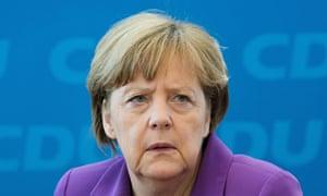 Angela Merkel, the German chancellor.