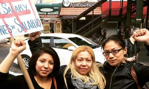 Laundry Workers Center campaign the Bronx