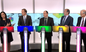Representatives from the five parties debate environment and climate change