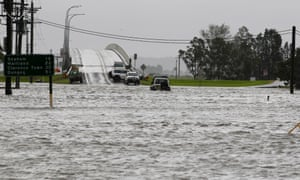 Flooding near Raymond Terrace