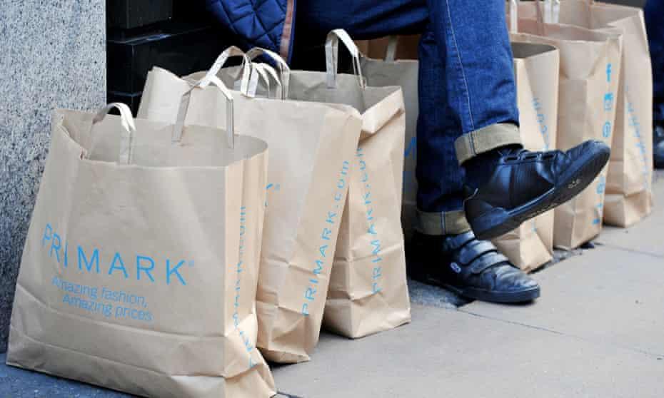 Primark first-half profit rise of 11% masks flat like-for-like sales.