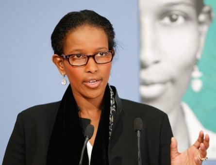 'Plain speaker': Ayaan Hirsi Ali.