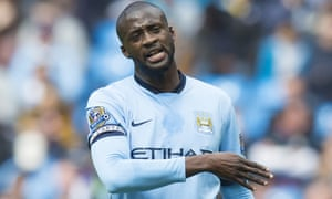 Yaya Touré has been criticised for some of his performances for Manchester City this season.