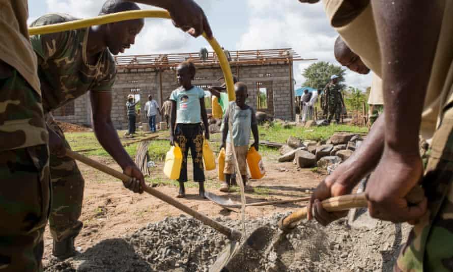 Construction Continues at Kapuri Primary School, South Sudan