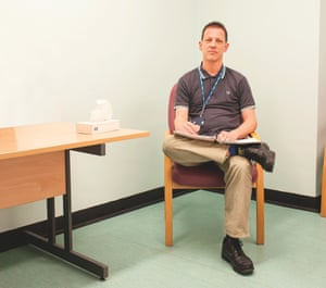 Mental health nurse Tom Hulme
