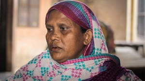 Shahorbanu, whose son Siddique was killed in the Rana Plaza collapse.