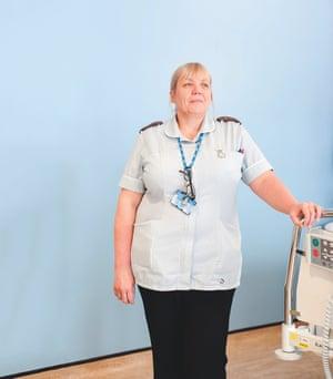 Senior nursing assistant Alison Sweeting