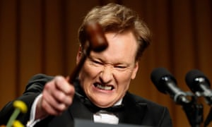 Conan O'Brien doesn't think there's anything wrong with late night TV – although writer Andrés du Bouchet might disagree.