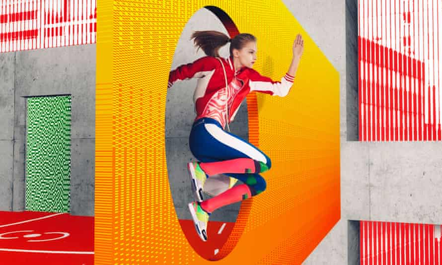Stellasport for Adidas: knee -high running socks