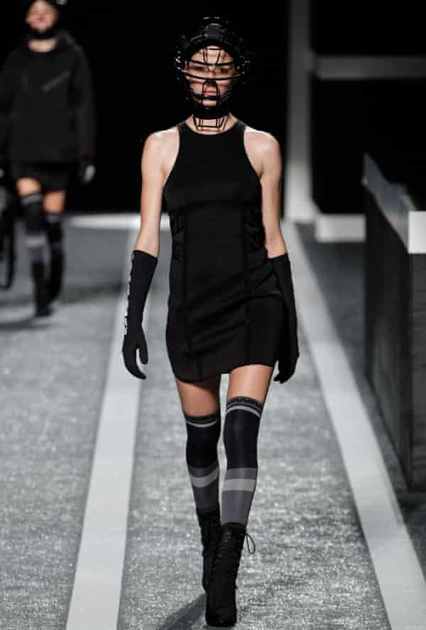 Compression socks in Alexander Wang's H&M Collection.