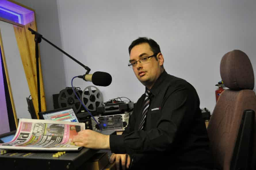 Tom Sinclair, the editor of the Pembrokeshire Herald.