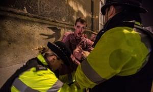 Binge drinking violence