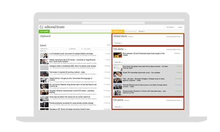 Editorial tool used to send breaking news alerts to the Guardian site.