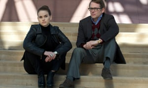 Matthew Broderick and Alice Eve in Neil LaBute's Dirty Weekend.