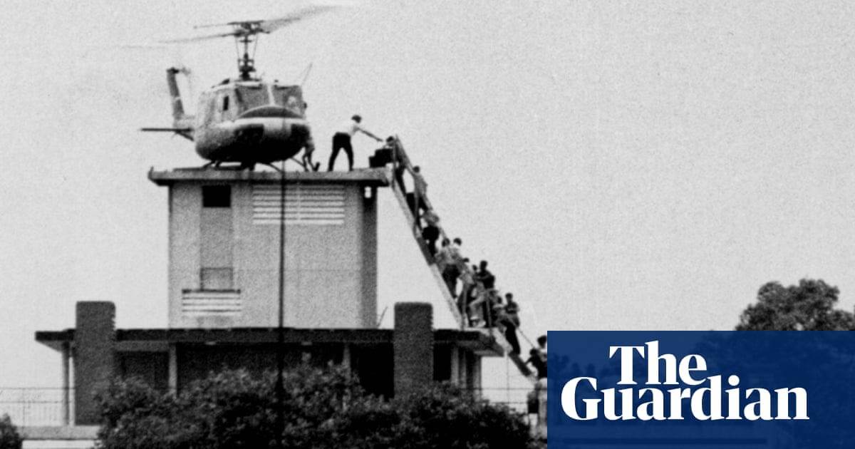 Forty Years On From The Fall Of Saigon Witnessing The End Of The Vietnam War News The Guardian