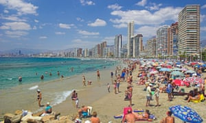Worthy of Unesco world heritage recognition? The seaside resort town of Benidorm is applying to gain the status already enjoyed by more than 40 other locations in Spain.
