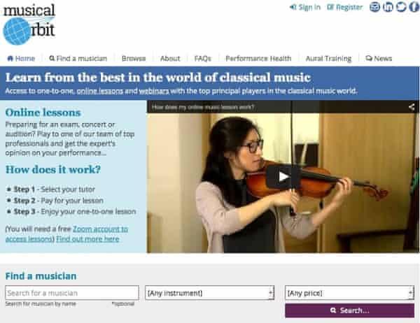 Musical Orbit's website