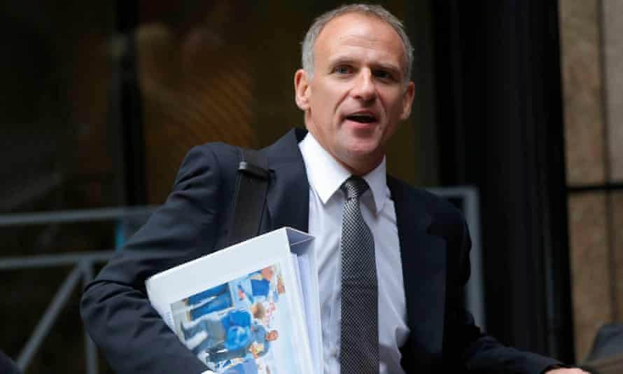 Tesco chief executive Dave Lewis is tasked with turning around the company's fortunes.
