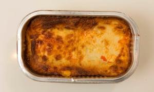M&S lasagne