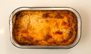 Tesco lasagne