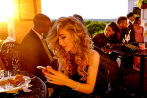 A girl tweets during her prom. Winner, arts and culture