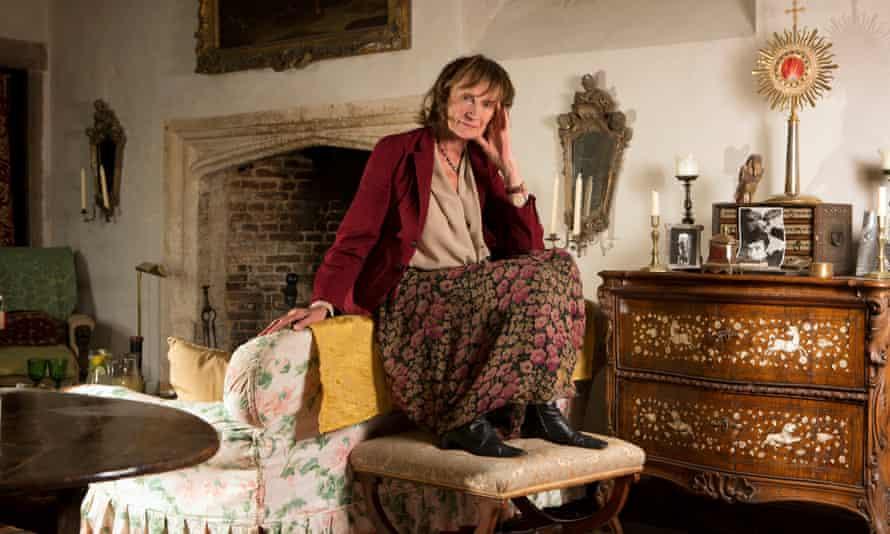 Amanda Feilding in her home