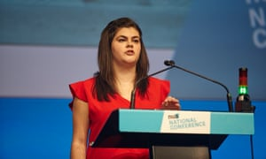 Megan Dunn has been elected as president of the National Union Students.
