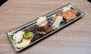 Something sweet: the dessert sharing plate.