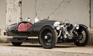 Chocks away: Morgan built its first three-wheeler in 1909.