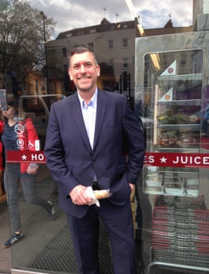 Roy Dyer has never had a free coffee at Pret