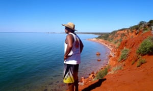 Guide Darren 'Capes' Capewell at Shark Bay