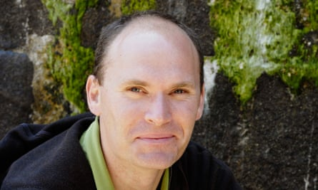 Anthony Doerr at a book fair in Saint-Malo, France.