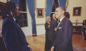 'Obama can't really speak how he wants to. He can't get up there and be like: Yeah, I'm a black man, I feel y'all': meeting the president.