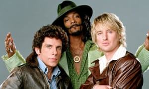 Acting up: with Ben Stiller and Owen Wilson in the film version of Starsky & Hutch.