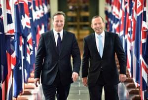 David Cameron and Tony Abbott