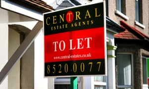 An estate agent's to Let Sign outside a house in Walthamstow, London