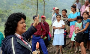Honduran activist Berta Cáceres, one of this year's winners of the Goldman Environmental Prize.