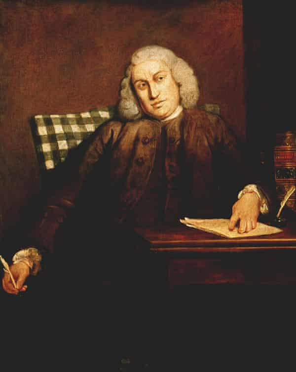 Joshua Reynolds's portrait of Samuel Johnson (1756-1757)