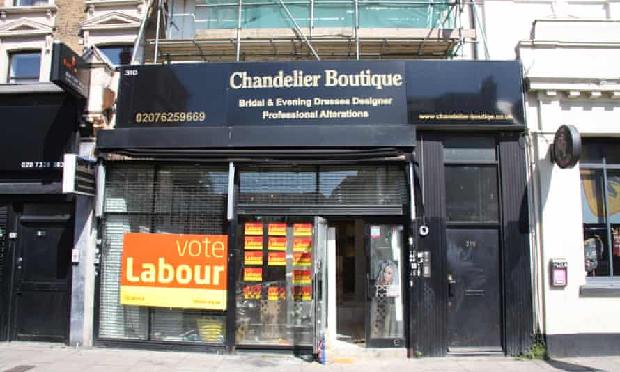 Labour supporters, Kilburn high Road