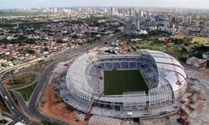 Arena Das Dunas stadium in Brazil