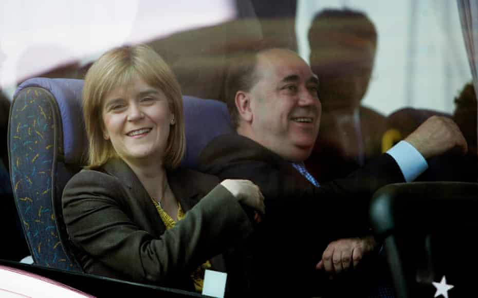 Sturgeon with Alex Salmond in2007.